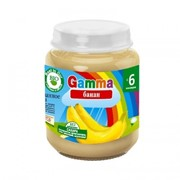 Пюре из банана без сахара Gamma BIO фото