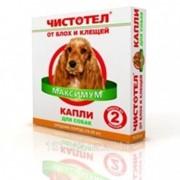 Капли от блох и клещей для средних собак 1 шт Чистотел фото