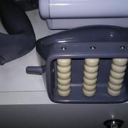 Массажная насадка роликовая для вакуумного массажёра (3 рельефных ролика) фото