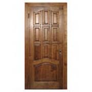 Двери из натурального дерева (сосна, дуб, ель) фото