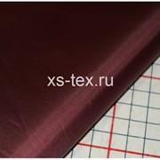 Ткань курточная Taffeta 190T PU milky 19-1726 бордовый фото
