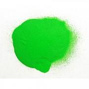 Темно-зеленый светящийся порошок - люминофор ТАТ 33 -100 грамм фото