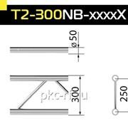 Прямой модуль T2-300NB-3500Х3500мм двухбрусовой фермы6,8кг фото