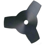 Нож 3-лопастной (255х25,4х1,4мм) для мотокосы фото