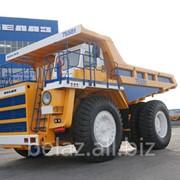 Самосвал карьерный БелАЗ, серия 7558, грузоподъемностьь 90 тонн фото