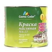 Краска маслянно зеленая Gama-color (2,0кг) фото