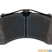 Колодки тормозные MERCEDES Actros дисковые (208x114x35) (4шт.) TEXTAR 2924401 фото