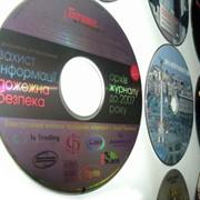 Печать на CD DVD дисках. фото