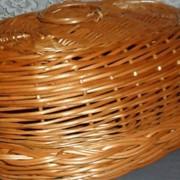 Хлебница из лозы ручной работы купить Украина фото