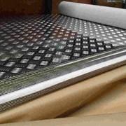 Алюминиевый лист рифленый от 1,2 до 4мм, резка в размер. Гладкий лист от 0,5 мм. Доставка по всей области. Арт-431 фото