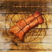 Хребты лосося горячего копчения фото