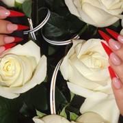 Наращивание ногтей акрилом в Днепропетровске фото
