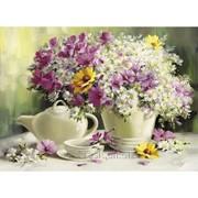 Стразы Романтичное утро. Частичная выкладка, 61x48, Leisuretime фото