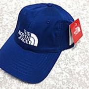 Кепка The North Face ярко-синяя фото