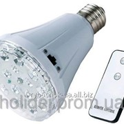 Светодиодная лампа с аккумулятором и дистанционным пультом управления YJ-1895L фото