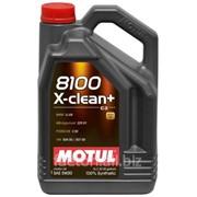 Масло моторное Motul DPF модель 5W30 8100 X-CLEAN+ 5L фото