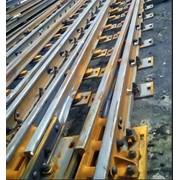 Крепеж железнодорожный. Железнодорожный крепеж, железнодорожный материал. Ж/Д крепеж. фото