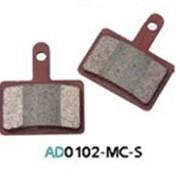 Колодка дисковая Ashima AD0102-MC-S w/spring фото