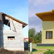 Реконструкция частных домов, коттеджей фото