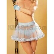 Нижняя юбка из спандекса и тюля S-7667 фото