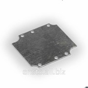Пластина установочная, размер 68 x 164 x 1.5 мм, оцинкованная сталь, HMP0818B фото