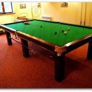 Бильярдные столы для английского снукера фото