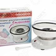 Аппарат для приготовления сахарной ваты Bradex «Сладкоежка» фото