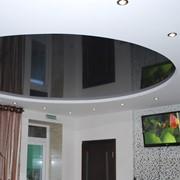 Установка многоуровневых натяжных потолков фото
