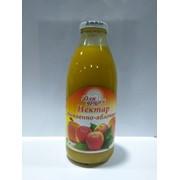 Нектар тыквенно-яблочный с мякотью 0,75л ТМ Для Друзей фото