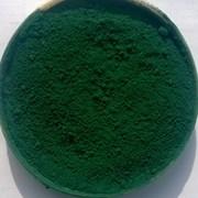 Пигмент неорганический зеленый Окись хрома фото
