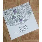 Книга-раскраска Secret Garden, Таинственный сад фото