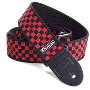 Гитарный ремень Dunlop D3831 RD Red Check фото