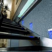 Авторский дизайн интерьера, коридоры, в стиле хайтек, визуализация фото
