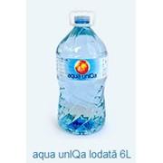 Йодированная минеральная вода aqua unIQa Iodată 6L фото