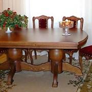 Мебель из массивной древесины фото
