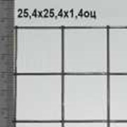Сетка сварная оцинкованная 25,4*25,4*1,4 мм (цинка до 50 г/м2) фото