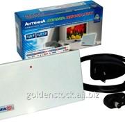 Антенна (усил. 30 дБ) Дельта ЦИФРА.12V-MAX , комнатная с усилителем фото