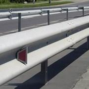 Дорожнє огородження 11 ДО - 2 (4мм) оцинковане фото