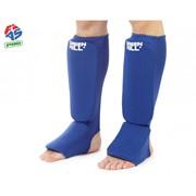 Защита голени FIAS синяя фото