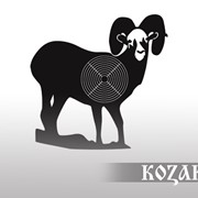 Мишень А4 Горный козел (25 шт.) фото