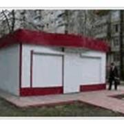 Изготовление киосков, временных построек. фото