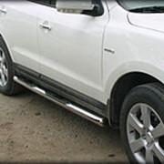 Пороги VW T4 2000-2003 (с проступью короткая база 76 мм) фото