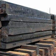 Шпала пропитанная новая деревянная, Шпалы деревянные пропитанные фото
