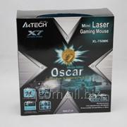 Мышь USB A4Tech XL-750MK черная лазерная рроводная 3600 DPI фото