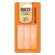 Трости для кларнета Bb, размер 2.5, 3 шт, Rico фото