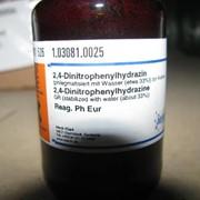 Химический реактив (2,4-Динитрофенил)гидразин фото