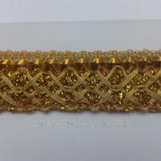 Тесьма люрекс 1рул - 16,5м 25 фото