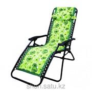 Шезлонг, 65 * 163 см, зеленый фото
