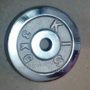 Диск хромированный вес 3кг, дх28-3 фото