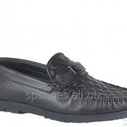 Туфли мужские 161-014, черный фото